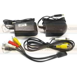 Wireless 0.9GHz 1500mw 4CH Video Audio Transmitter Receiver with Fan