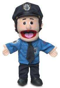 14 Pro Puppets/Full Body Hand Puppet Policeman