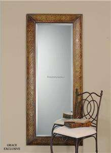 Extra Large Long FULL LENGTH Copper Wall Floor Mirror