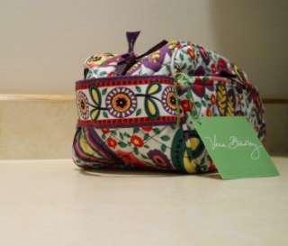Vera Bradley Trip Kit Travel Case *Viva la Vera* Great Bag New With