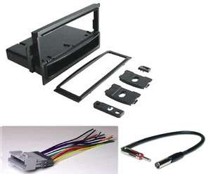 00   02 General Motors Radio Installation Dash Kit + Harness + Antenna