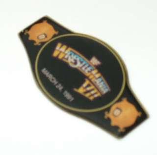 WWF WRESTLE MANIA MARCH 24 1991 PIN