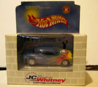 HOT WHEELS SPECIAL EDITION JC WHITNEY HOT ROD FORD NIB