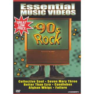 Essential Music Videos 90s Rock, DVD Movies