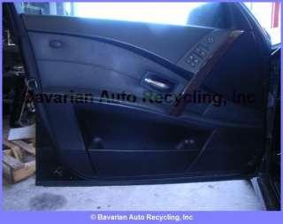 BMW 530i 4DR E60 INTERIOR Door Panel Assembly L/F