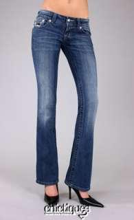 Miss Me Jeans Metallic Mini Sequin Blingy Zebra Yoke Denim Boot Cut