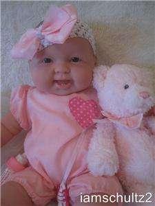 NEW Life Size 20 Sweet Chubby Happy W/Teeth Berenguer Baby Doll