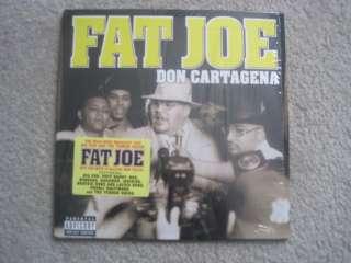 FAT JOE DON CARTAGENA 1998 RECORD LP ALBUM