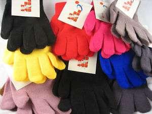 MAGIC GLOVES Stretch Winter Gloves MEN WOMEN BOYS GIRLS