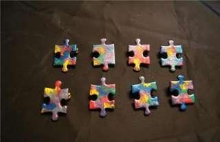 Autism Awareness Handmade Puzzle Pin (50 Lot)