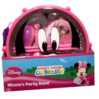 10Pc Musical Instruments SET Disney Mickey Mouse Club House Minnies