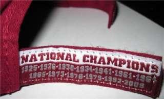 National Champion Alabama Crimson Tide Baseball Caps