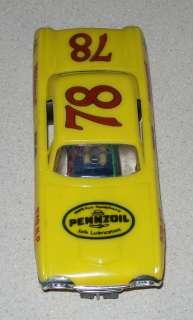 32 ELDON strombecker slot car #78 FORD STOCK CAR |