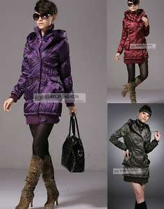 NEW Womens Winter Long Coat Outerwear #GF006