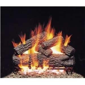Peterson Gas Logs 18 Inch Post Oak Vented Propane Gas Log
