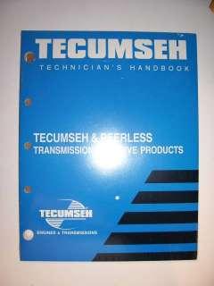 NEW TECUMSEH PEERLESS TRANSMISSION TRANSAXLE MANUAL