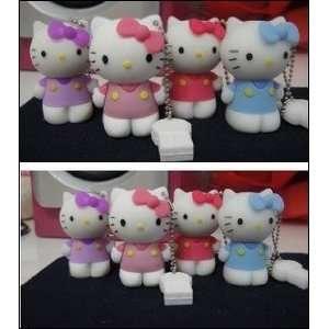 Pink Hello Kitty Usb Flash Memory Drive Stick 4gb /3 Years