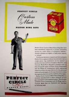 VintagePC Perfect Circle Piston Rings & Expanders1945