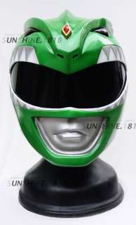 LIGHT UP! GREEN POWER RANGERS MIGHTY MORPHIN HELMET 1/1