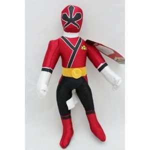 11 Power Rangers Samurai Red Action Figure Plush Doll