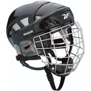 Reebok 6K Hockey Helmet with Cage 2010 Sports & Outdoors