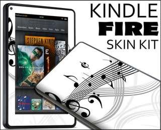 Kindle Fire Skin Vinyl Decal eBook Netbook Tablet #022 Music