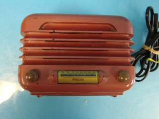Airline 93BR 423B Space Age Tube Radio Tabletop Mantle 1940 |