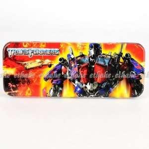 Transformers Optimus Prime Metal Pencil Box Case