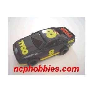 Tyco   Ford Stock Slot Car #8 (bk) (Slot Cars) Toys & Games