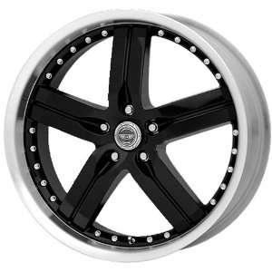 American Racing Rouge 20x8.5 Black Wheel / Rim 5x4.5 with